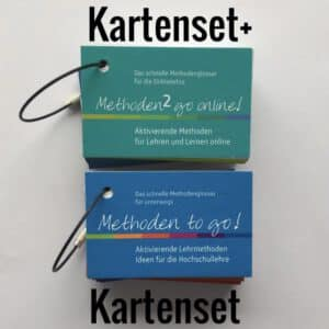 Methoden to go - Kartenset & Methoden 2 go Online - Kartenset - Bundle