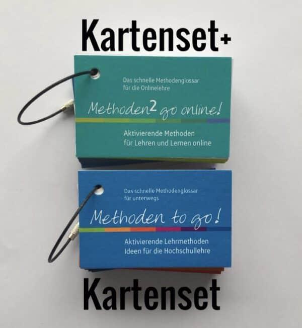 Methoden to go - Kartenset & Methoden 2 go Online - Kartenset - Bundle