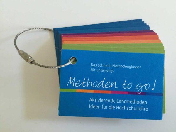 Methoden to go - Kartenset - Methodenglossar für Unterwegs